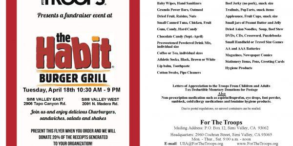 The Habit FTT Fundraiser