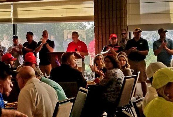 Hero's Golf Tournament 22 Active Service Members