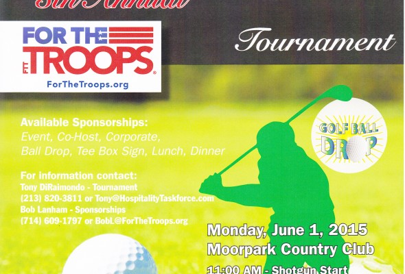 GOLF BALL DROP coming up at Our Annual Golf Tournament on June 1st
