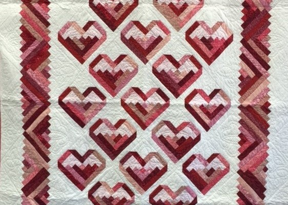 This Beautiful Quilt will be raffled at Our Annual Card Signing Event