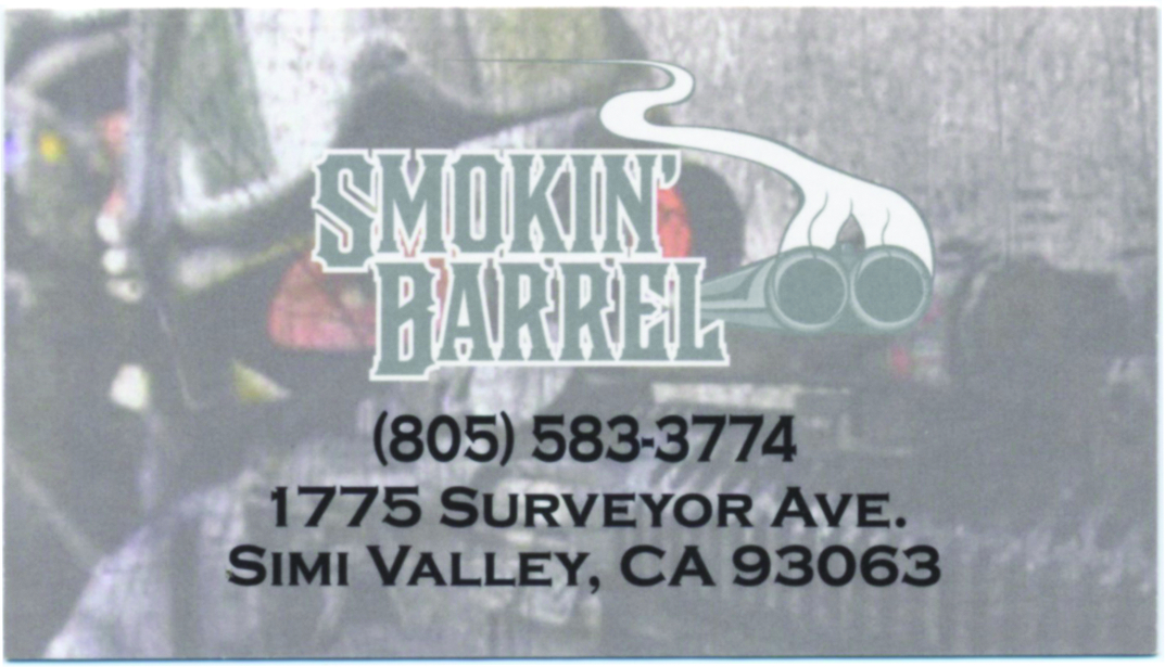 smoking barrel