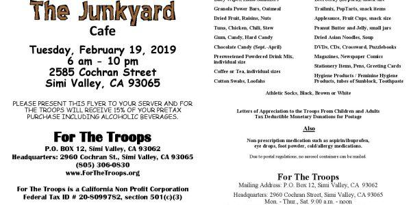 Junkyard Fundraiser